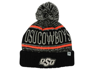 Oklahoma State Cowboys Top of the World NCAA Kids Acid Rain Pom Knit