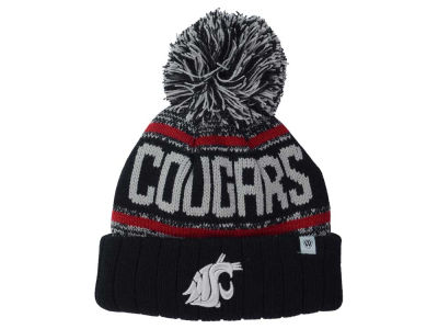 Washington State Cougars Top of the World NCAA Kids Acid Rain Pom Knit
