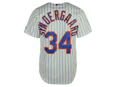 New York Mets Noah Syndergaard MLB Youth Player Replica Cool Base Jersey