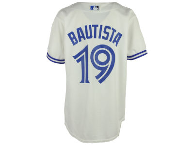 Toronto Blue Jays Jose Bautista Majestic MLB Youth Player Replica Cool Base Jersey