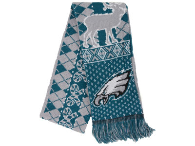 Philadelphia Eagles Forever Collectibles Reversible Reindeer Ugly Scarf