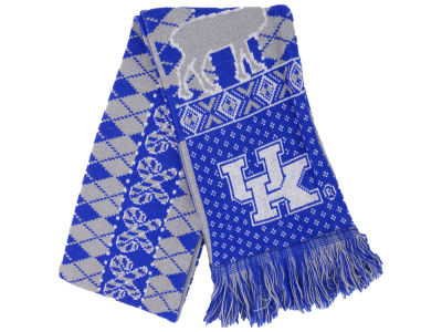 Kentucky Wildcats Reversible Reindeer Ugly Scarf