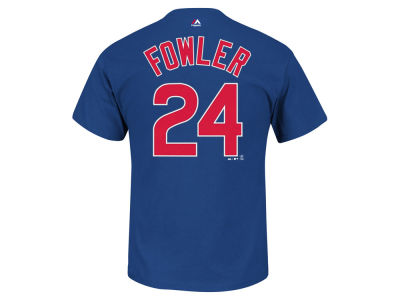 Chicago Cubs Dexter Fowler Majestic MLB Men's Official Player T-Shirt