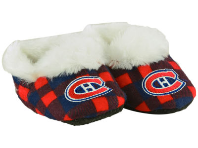 Montreal Canadiens Flannel Baby Booties
