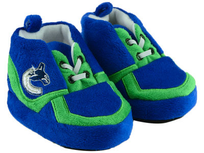 Vancouver Canucks Sneaker Baby Booties