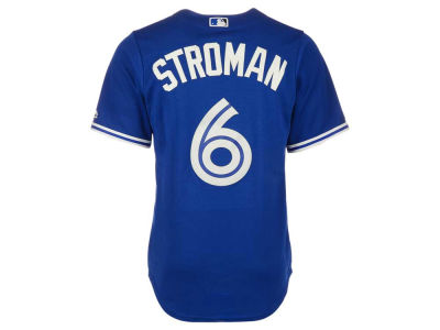 Toronto Blue Jays Marcus Stroman Majestic MLB Youth Player Twill CoolBase Jersey