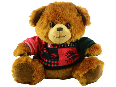 "Toronto Raptors 7.5"" Ugly Sweater Bear"