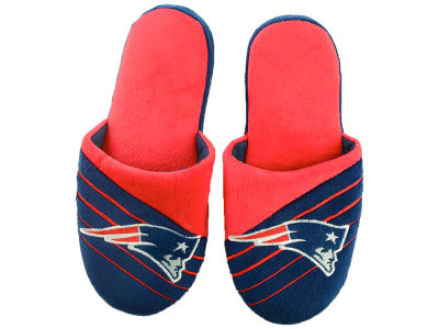 New England Patriots Big Logo Slippers