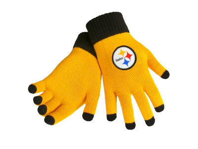 Pittsburgh Steelers Solid Knit Texting Gloves