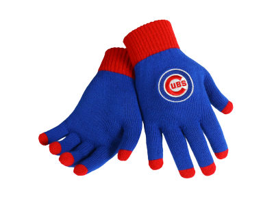 Chicago Cubs Solid Knit Texting Gloves