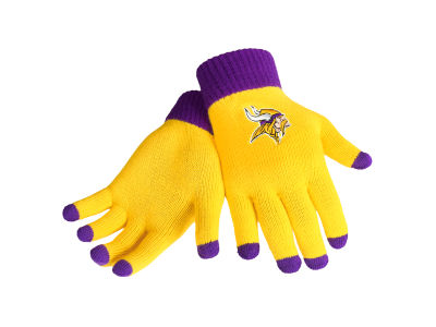 Minnesota Vikings Solid Knit Texting Gloves