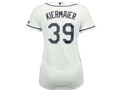 Tampa Bay Rays Kevin Kiermaier Majestic MLB Women's Cool Base Player Replica Jersey