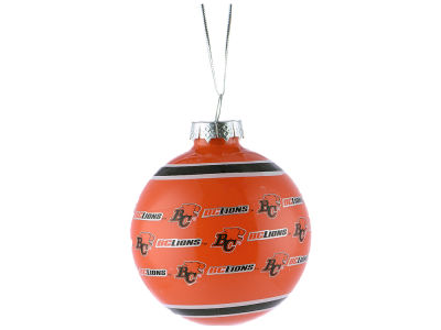BC Lions 2016 Glass Ball Ornament