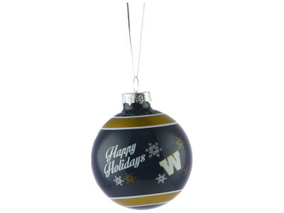 Winnipeg Blue Bombers 2016 Glass Ball Ornament