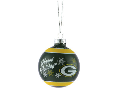 Green Bay Packers 2017 Glass Ball Ornament
