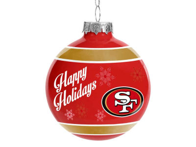 San Francisco 49ers 2016 Glass Ball Ornament