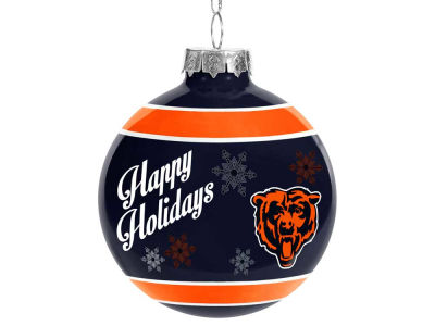 Chicago Bears 2016 Glass Ball Ornament