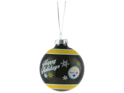 Pittsburgh Steelers 2017 Glass Ball Ornament