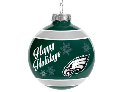 Philadelphia Eagles 2017 Glass Ball Ornament