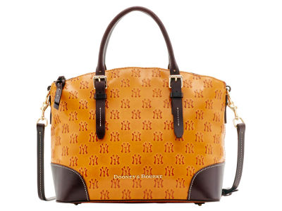 New York Yankees Dooney & Bourke Leather Domed Satchel