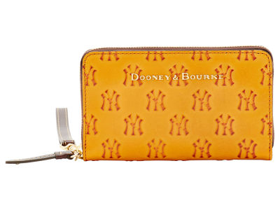 New York Yankees Dooney & Bourke Leather Wristlet