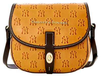 New York Yankees Dooney & Bourke Leather Field Bag