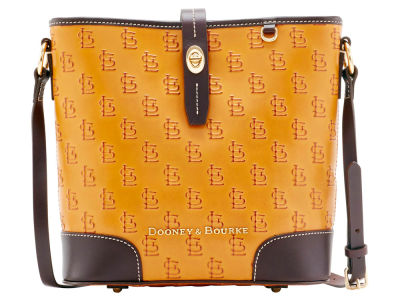 St. Louis Cardinals Dooney & Bourke Leather Crossbody Bucket