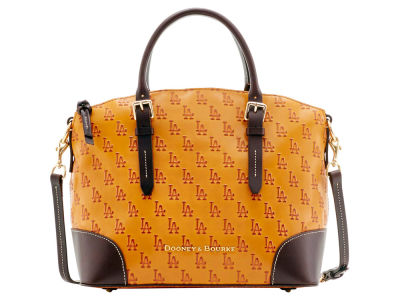 Los Angeles Dodgers Dooney & Bourke Leather Domed Satchel