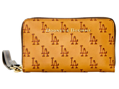 Los Angeles Dodgers Dooney & Bourke Leather Wristlet