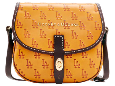Los Angeles Dodgers Dooney & Bourke Leather Field Bag