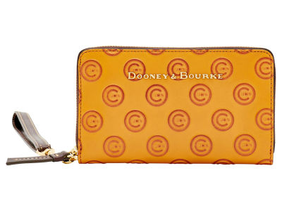 Chicago Cubs Dooney & Bourke Leather Wristlet