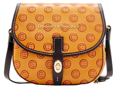 Chicago Cubs Dooney & Bourke Leather Field Bag