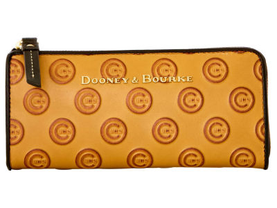 Chicago Cubs Dooney & Bourke Leather Zip Clutch