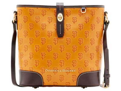 San Francisco Giants Dooney & Bourke Leather Crossbody Bucket