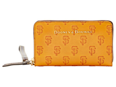 San Francisco Giants Dooney & Bourke Leather Wristlet