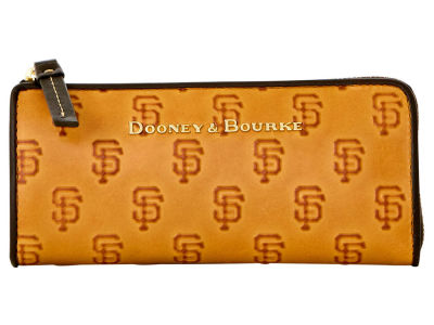 San Francisco Giants Dooney & Bourke Leather Zip Clutch