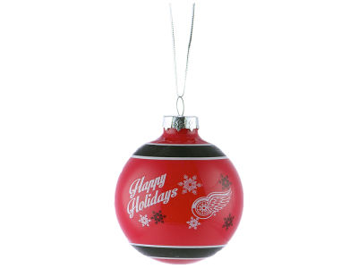 Detroit Red Wings 2017 Glass Ball Ornament