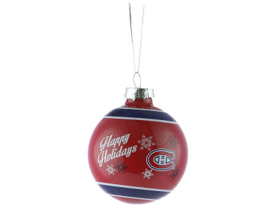 Montreal Canadiens 2016 Glass Ball Ornament