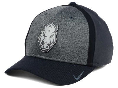 Arkansas Razorbacks Nike NCAA Heather Stretch Fit Cap