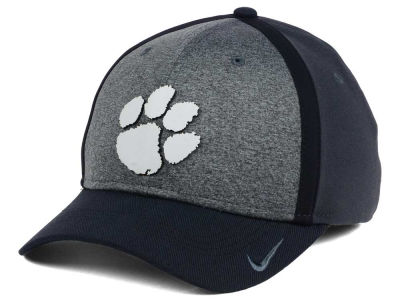 Clemson Tigers Nike NCAA Heather Stretch Fit Cap