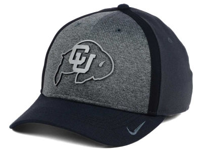 Colorado Buffaloes Nike NCAA Heather Stretch Fit Cap