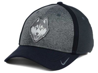 Connecticut Huskies Nike NCAA Heather Stretch Fit Cap