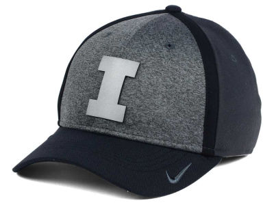 Illinois Fighting Illini Nike NCAA Heather Stretch Fit Cap