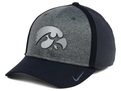 Iowa Hawkeyes Nike NCAA Heather Stretch Fit Cap