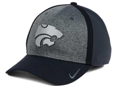 Kansas State Wildcats Nike NCAA Heather Stretch Fit Cap