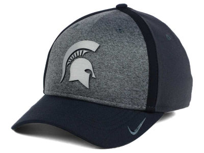 Michigan State Spartans Nike NCAA Heather Stretch Fit Cap