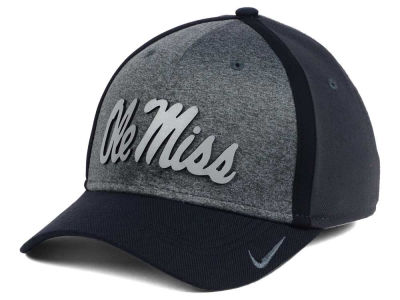 Ole Miss Rebels Nike NCAA Heather Stretch Fit Cap