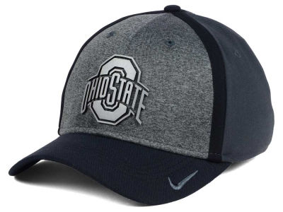 Ohio State Buckeyes Nike NCAA Heather Stretch Fit Cap
