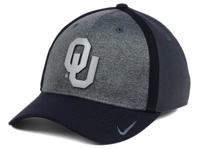 Oklahoma Sooners Nike NCAA Heather Stretch Fit Cap