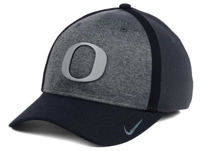 Oregon Ducks Nike NCAA Heather Stretch Fit Cap